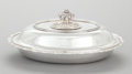Silver Holloware, American:Vegetable Dish, A TIFFANY & CO. WAVE EDGE PATTERN SILVER COVERED SERVINGDISH. Tiffany & Co., New York, New York, designed 1883-...