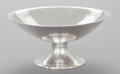 Silver Holloware, American:Bowls, A TIFFANY & CO. HAND HAMMERED SILVER FOOTED BOWL. Tiffany &Co., New York, New York, circa 1916-1917. Marks: TIFFANY &CO....