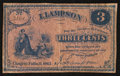 Obsoletes By State:Ohio, Chagrin Falls, OH- I. Lampson 3¢ 1862 Wolka 0301-01. ...