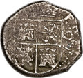 Colombia, Colombia: Philip IV cob 4 Reales 1655 C-S,...
