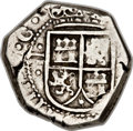 Colombia, Colombia: Philip IV cob 2 Reales (1652) N(R)-PR,...