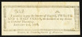Obsoletes By State:Ohio, Chester Township, OH- Unknown Issuer 12-1/2¢ Jan. 22, 1816Remainder Wolka 0334-02. ...