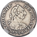 Colombia, Colombia: Charles III 1/2 Real 1784,...