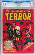 Golden Age (1938-1955):Horror, Startling Terror Tales #11 (Star Publications, 1952) CGC VG+ 4.5Cream to off-white pages....