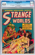 Golden Age (1938-1955):Horror, Strange Worlds #5 (Avon, 1951) CGC VG 4.0 Off-white to whitepages....