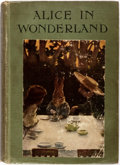 Books:Children's Books, [Bessie Pease, illustrator]. Lewis Carroll. Alice inWonderland. London: Harrap, [1920]. First edition with thes...
