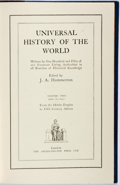 Books:Fine Bindings & Library Sets, [J. A. Hammerton, editor]. Universal History of the World. London: Amalgamated Press, [n.d., ca. 1950's]. Volume II ...