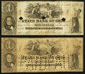Obsoletes By State:Ohio, Cleveland, OH- The State Bank of Ohio, Merchants Branch $1 (2) 1858G384a Wolka 0776-05. ... (Total: 2 notes)