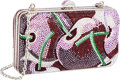 Luxury Accessories:Bags, Judith Leiber Full Bead Red Crystal Cherry Minaudiere Evening Bag ....