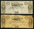 Obsoletes By State:Ohio, Columbus, OH- The Franklin Bank of Columbus Counterfeit $5 (2)1833-36 C32 (2) Wolka 0863-21. ... (Total: 2 notes)