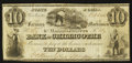 Obsoletes By State:Ohio, Chillicothe, OH- The Farmers Mechanics & Manufacturers Bank ofChillicothe $10 Oct. 5, 1843 G38 Wolka 0349-12. ...