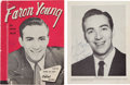 Music Memorabilia:Autographs and Signed Items, Faron Young, Patsy Cline, and George Jones Signed Tour Program(1960). ...
