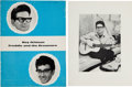 Music Memorabilia:Autographs and Signed Items, Roy Orbison Signed Tour Programme (UK, 1964). ...