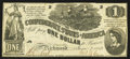 Confederate Notes:1862 Issues, T44 $1 1862 PF-3 Cr. 341.. ...