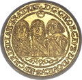 German States:Silesia, German States: Silesia-Liegnitz-Brieg. Georg III, Ludwig IV, andChristian gold Ducat 1651-VT,...