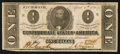 Confederate Notes:1863 Issues, T62 $1 1863 PF-476.. ...