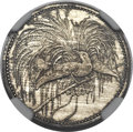 German New Guinea, German New Guinea: German Colony Proof 1/2 Mark 1894-A,...