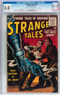 Silver Age (1956-1969):Horror, Strange Tales #49 (Atlas, 1956) CGC GD/VG 3.0 Off-white to whitepages....