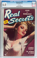 Golden Age (1938-1955):Romance, Real Secrets #2 (Ace Periodicals, 1949) CGC FN 6.0 White pages....
