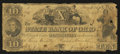 Obsoletes By State:Ohio, Mount Vernon, OH- State Bank of Ohio, Knox County BranchCounterfeit $10 May 2, 1847 C1020 Wolka 1754-28 . ...
