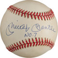 Autographs:Baseballs, 1990's Mickey Mantle Signed Baseball. ...