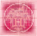 "Luxury Accessories:Accessories, Hermes 90cm Pink ""24 Faubourg Seconde,"" by Dmitri Rybaltchenko SilkScarf. ..."