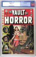 Golden Age (1938-1955):Horror, Vault of Horror #23 Gaines File pedigree 9/12 (EC, 1952) CGC NM/MT9.8 Off-white pages. Everything about this book is horrif...