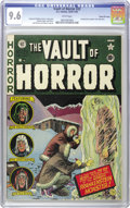Golden Age (1938-1955):Horror, Vault of Horror #22 Gaines File pedigree 11/12 (EC, 1951) CGC NM+9.6 White pages. EC was known for swiping a story idea her...