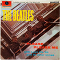 Music Memorabilia:Autographs and Signed Items, Beatles Signed Please Please Me LP Obtained by a British Newspaper Reporter on October 31, 1964 (Parlophone PMC 12...