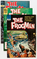 Silver Age (1956-1969):Adventure, The Frogmen File Copy Group (Dell, 1962-65) Condition: Average VF+.... (Total: 15 Comic Books)