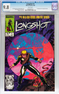 Modern Age (1980-Present):Superhero, Longshot #1 (Marvel, 1985) CGC NM/MT 9.8 White pages....