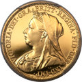 Great Britain: Victoria gold Proof Sovereign 1893