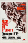 "Movie Posters:Academy Award Winners, From Here to Eternity (Columbia, R-1970s). One Sheet (27"" X 41"").Academy Award Winners.. ..."