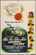 """Movie Posters:Mystery, Lured (United Artists, 1947). One Sheet (27"""" X 41""""). Mystery. Retitled Personal Column.. ..."""