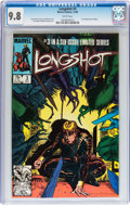 Modern Age (1980-Present):Superhero, Longshot #3 (Marvel, 1985) CGC NM/MT 9.8 White pages....