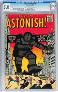 Silver Age (1956-1969):Mystery, Tales to Astonish #3 (Marvel/Atlas, 1959) CGC VG/FN 5.0 Cream tooff-white pages....