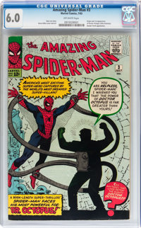 The Amazing Spider-Man #3 (Marvel, 1963) CGC FN 6.0 Off-white pages
