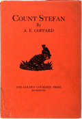 Books:Literature 1900-up, A. E. Coppard. Count Stefan. Golden Cockerel, 1928. Limitededition of 600. Octavo. Illustrated frontispiece. Publis...