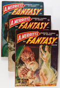 Pulps:Science Fiction, A. Merritt's Fantasy Complete Run Group (Popular Publications,1949-50) Condition: Average VG-.... (Total: 5 Items)