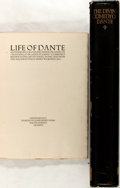 Books:Biography & Memoir, [Dante Alighieri]. Group of Two Fine Press Books Related to Dante. Includes Boccaccio's Life of Dante printed by John He... (Total: 2 Items)