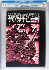 Teenage Mutant Ninja Turtles #1 Second Printing - Don/Maggie Thompson Collection pedigree (Mirage Studios, 1984) CGC NM...