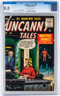 Golden Age (1938-1955):Horror, Uncanny Tales #32 (Atlas, 1955) CGC VF 8.0 Cream to off-whitepages....