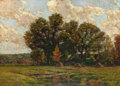 Fine Art - Painting, American:Antique  (Pre 1900), EDWARD PARKER HAYDEN (American, 1858-1922). AutumnLandscape, 1898. Oil on canvas. 22 x 31 inches (55.9 x 78.7cm). Sign...