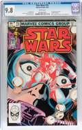Modern Age (1980-Present):Science Fiction, Star Wars #75 (Marvel, 1983) CGC NM/MT 9.8 White pages....