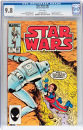 Modern Age (1980-Present):Science Fiction, Star Wars #86 (Marvel, 1984) CGC NM/MT 9.8 White pages....