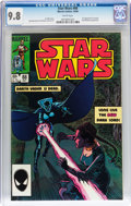 Modern Age (1980-Present):Science Fiction, Star Wars #88 (Marvel, 1984) CGC NM/MT 9.8 White pages....