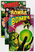 Silver Age (1956-1969):Adventure, Bomba the Jungle Boy Group (DC, 1967-68) Condition: Average VG.... (Total: 30 Comic Books)