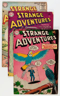 Golden Age (1938-1955):Science Fiction, Strange Adventures/Adventures Into the Unknown Group (DC/ACG, 1955).... (Total: 5 Comic Books)