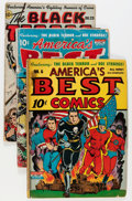 Golden Age (1938-1955):Miscellaneous, Golden Age Miscellaneous Comics Group (Various Publishers, 1940s) Condition: Average GD-.... (Total: 4 Comic Books)