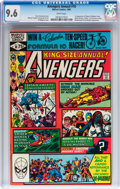 Modern Age (1980-Present):Superhero, The Avengers Annual #10 (Marvel, 1981) CGC NM+ 9.6 White pages....